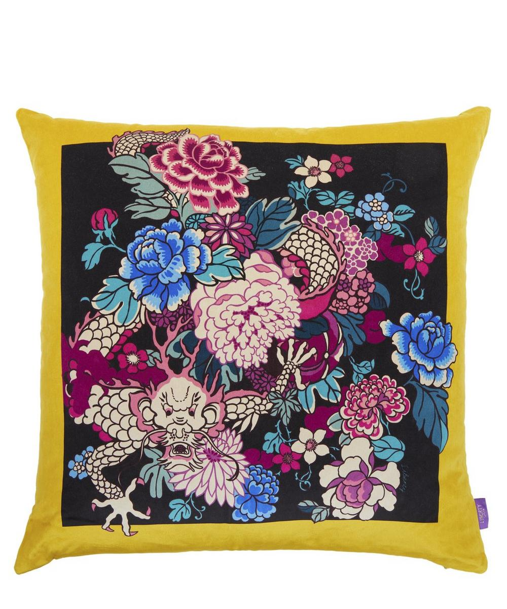 Tamberlane Square Velvet Cushion