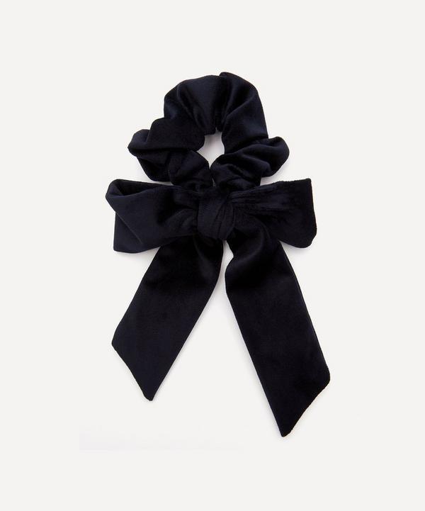 THE UNIFORM - Velvet Bow Scrunchie