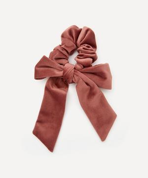 Velvet Bow Scrunchie