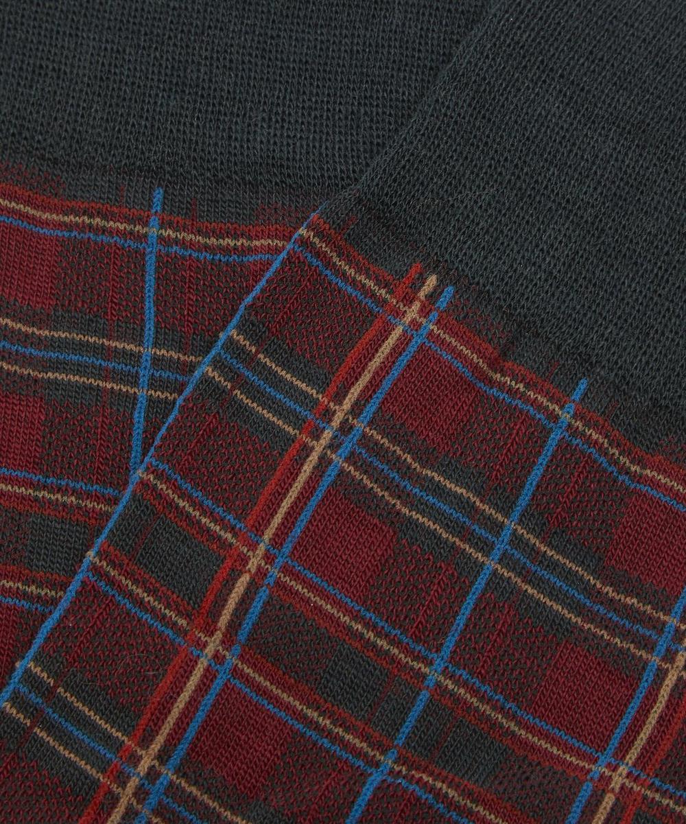 Tartan Wool-Blend Socks