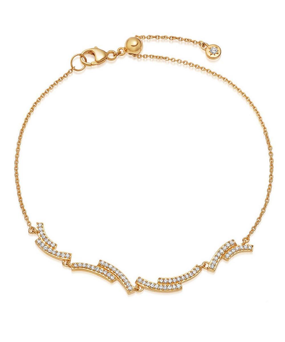 Astley Clarke Gold Icon Scala Diamond Bracelet