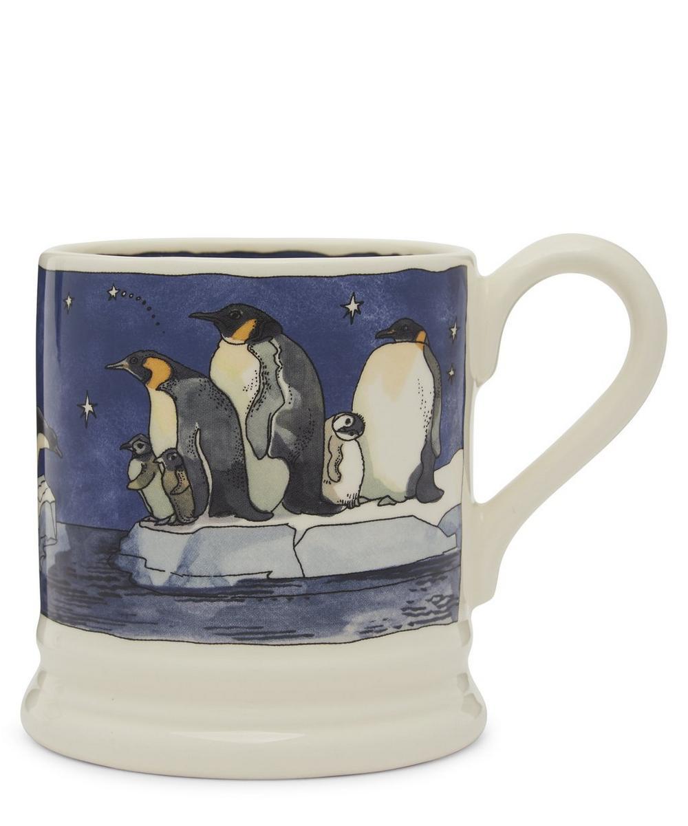 Winter Penguins Half-Pint Mug