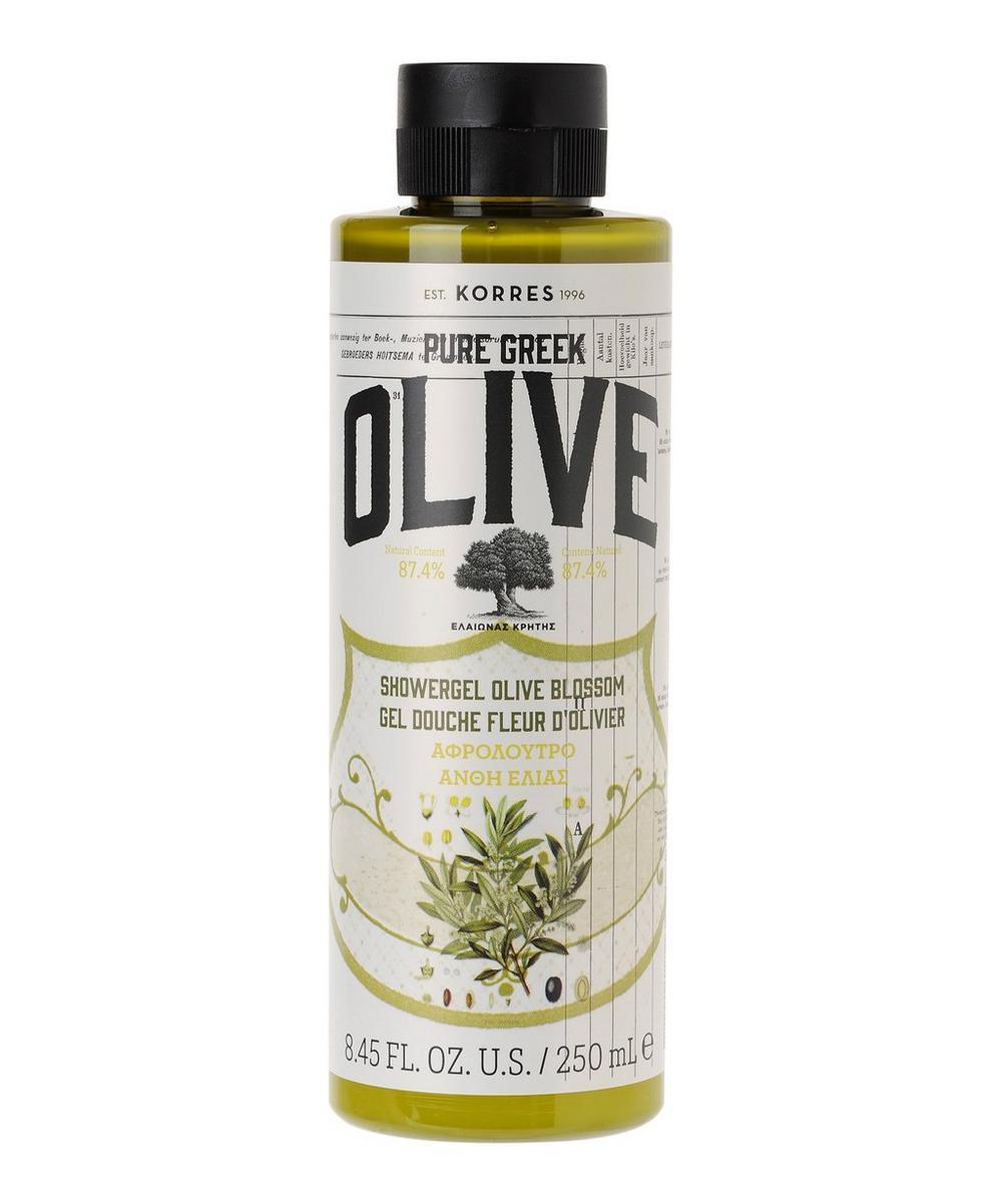 Pure Greek Olive Blossom Shower Gel 250ml