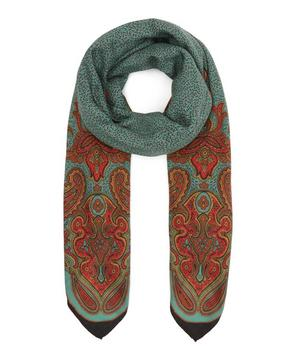 Scialle Bombay Wool-Blend Scarf