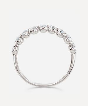 White Gold Elyhara Diamond Half Eternity Ring