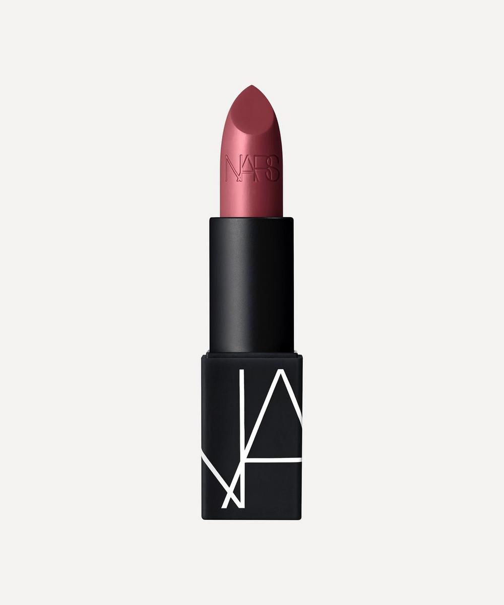 Nars Lipstick In Afghan Red (satin)