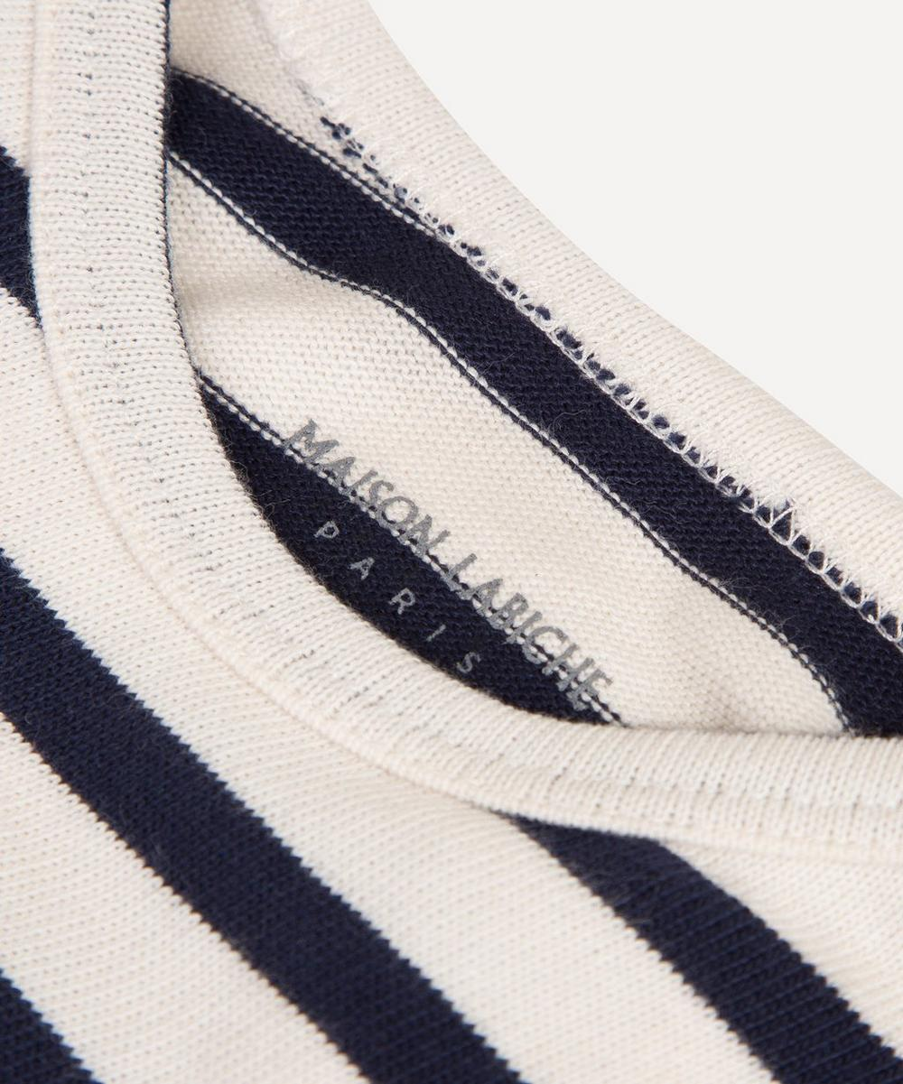Long Sleeve Striped Amour Bodysuit 0-24 Months