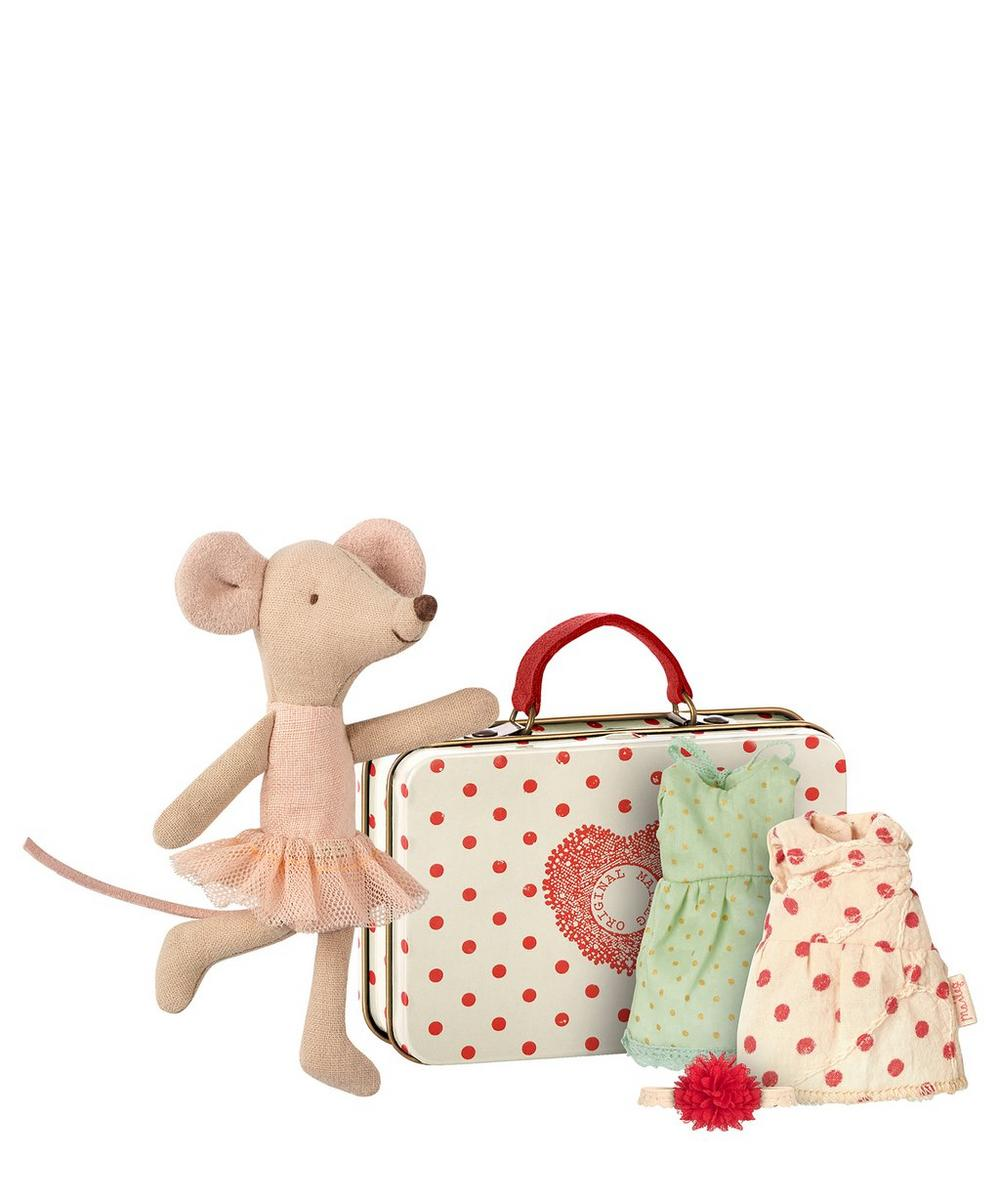 Maileg - Ballerina Mouse with Two Dresses