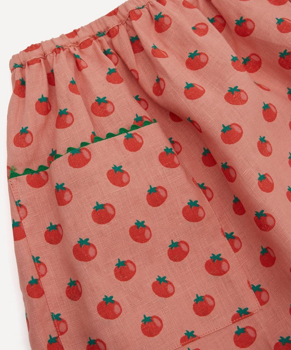 Woven Tomato Print Skirt 4-8 Years