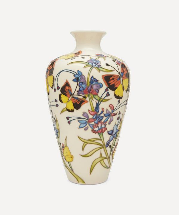 72/9 Woolly Blue Curls Vase