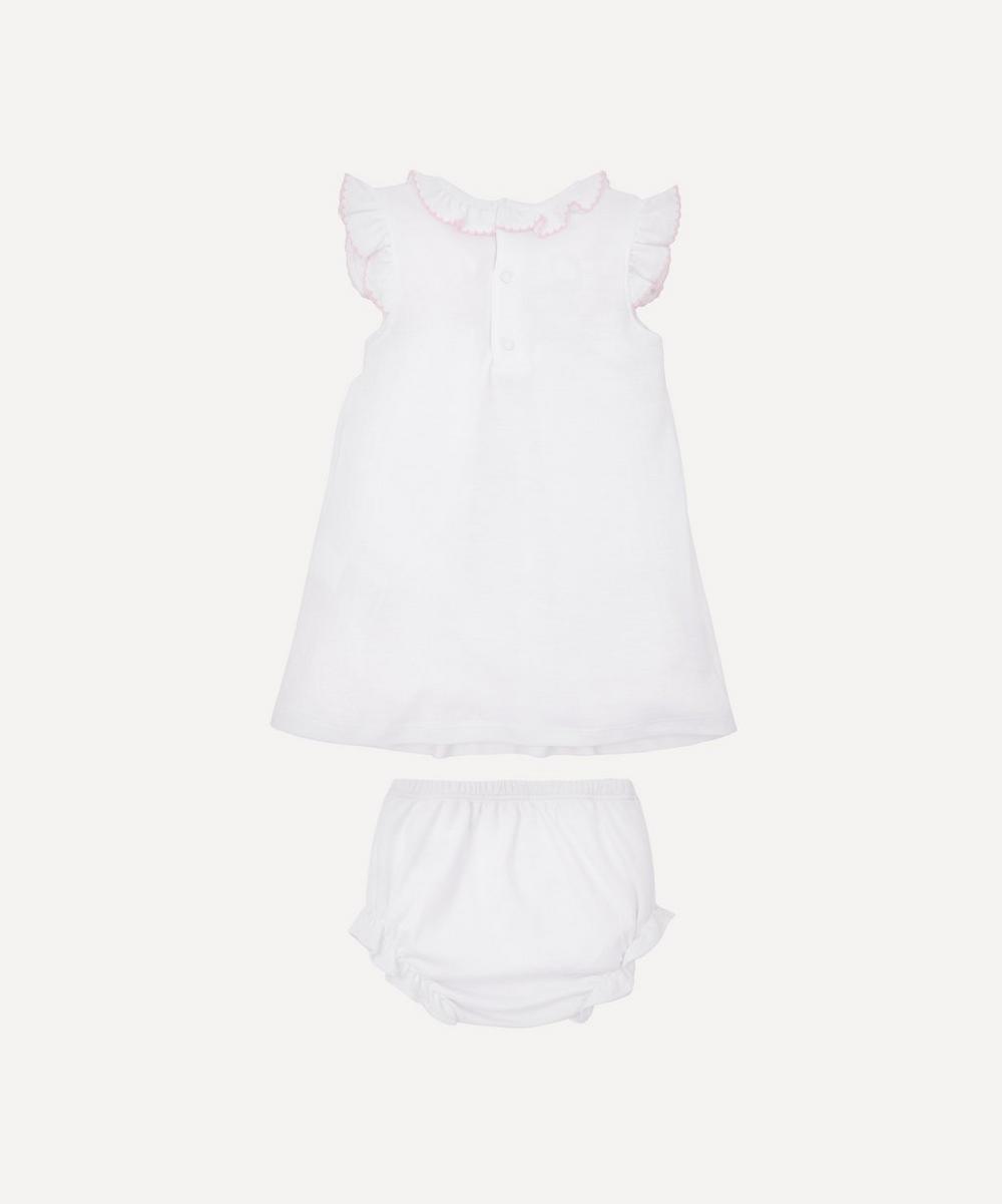 CLB Summer 20 Hand-Smocked Dress Set 0-18 Months
