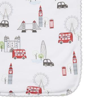 London Landmarks Burp Cloth