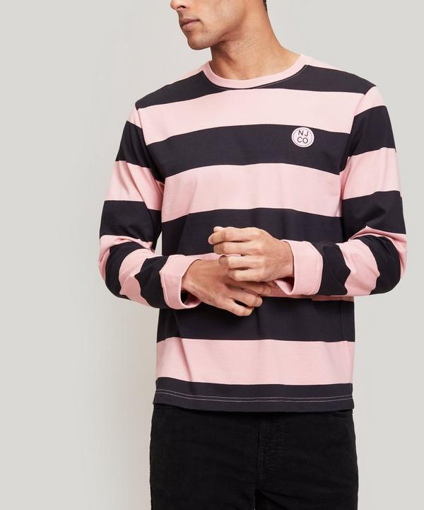 Rudi Block Stripe Long-Sleeve T-Shirt