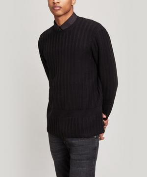 Fraction Rib Knit Jumper