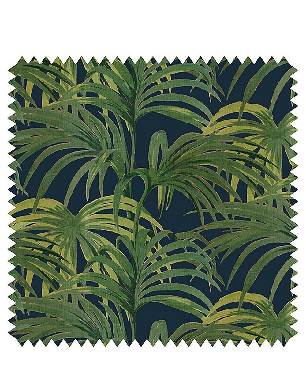 Palmeral Velvet Fabric Sample Swatch