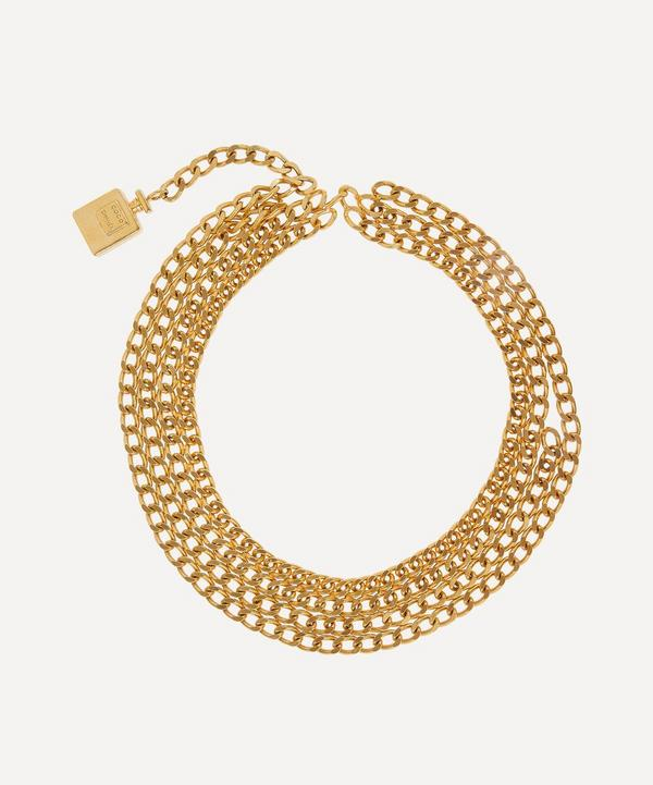 Designer Vintage - 1980s Chanel Gilt Belt