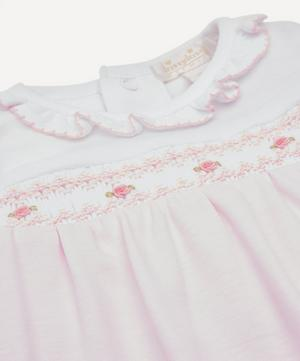 CLB Summer Bishop Hand-Smocked Footie 0-12 Months
