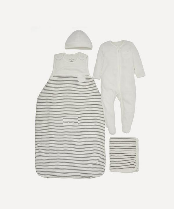 MORI - Stripe Clever Sleep Set 0-6 Months