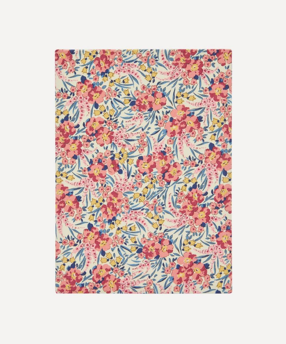 Liberty - Swirling Petals Print Cotton A5 Notebook