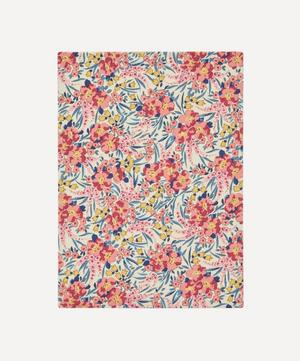 Swirling Petals Print Cotton A5 Notebook