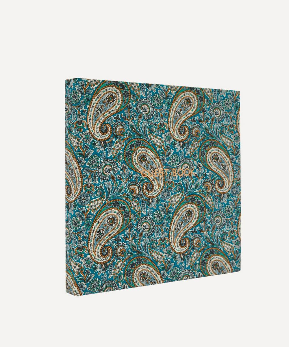 Lee Manor Print Cotton Square Guest Book