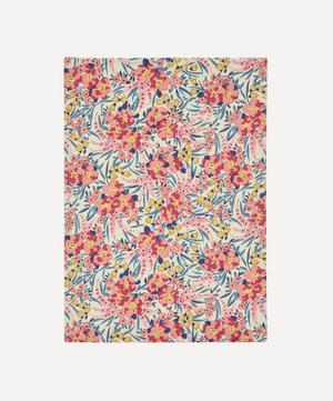 Swirling Petals Print Cotton A5 Lined Journal