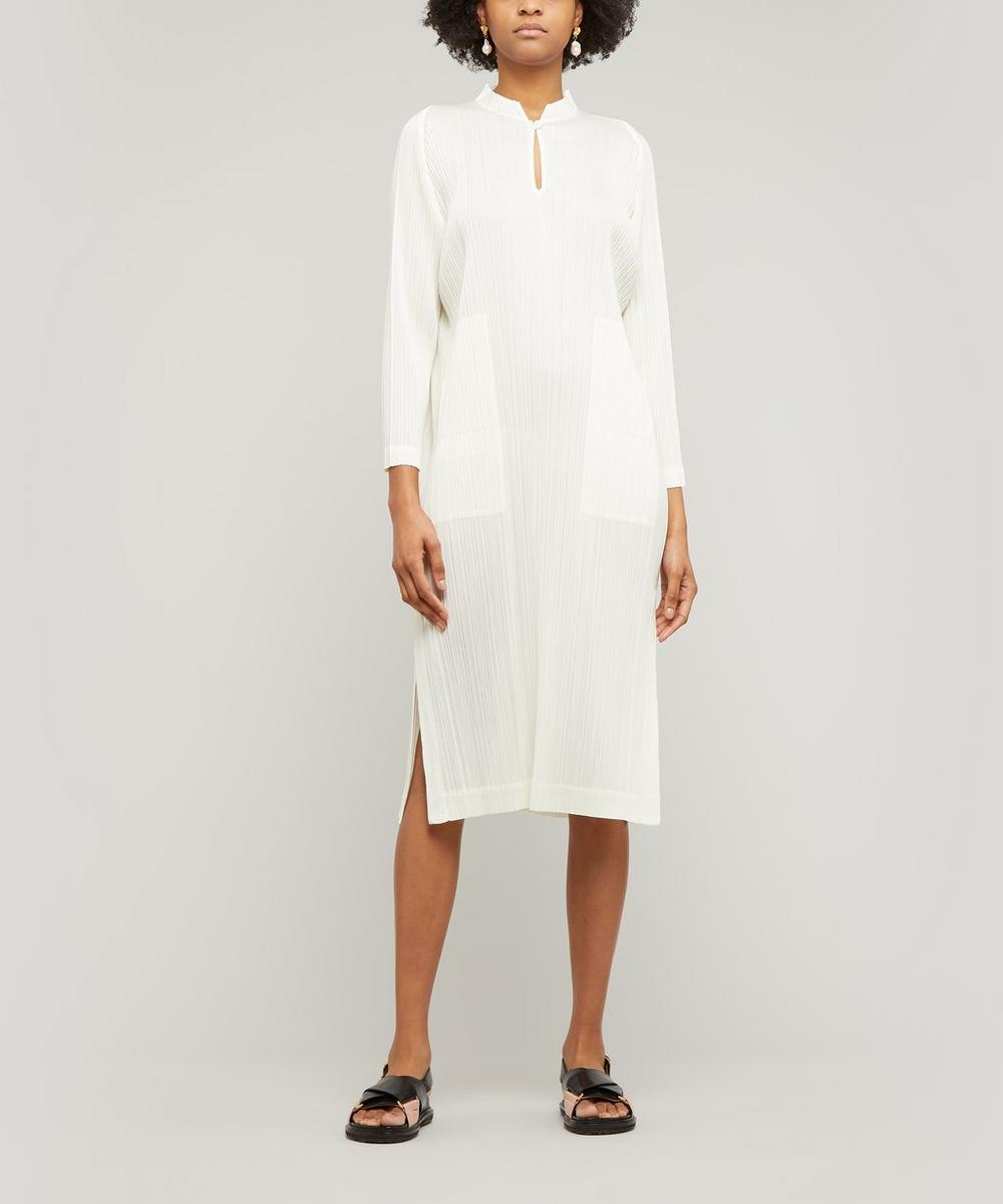 Monthly Colours Mandarin-Collar Dress