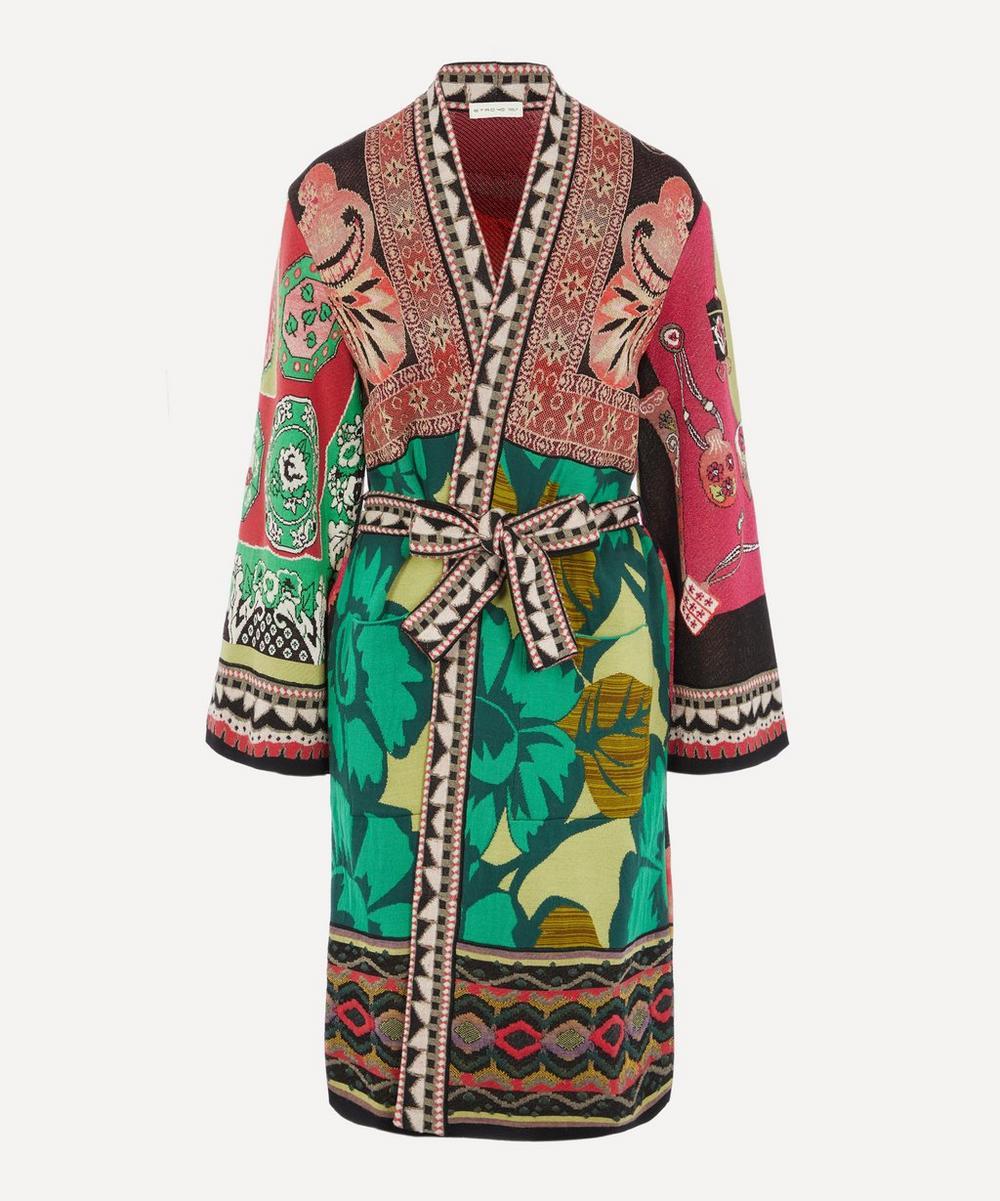 Kimono Style Poly-cotton Floral House Coats wrap sizes up to 30 Colour Choice.