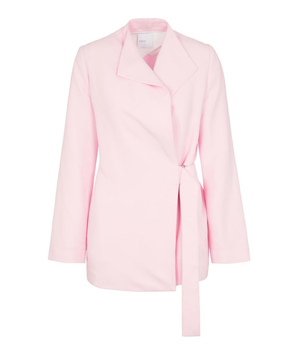 Rosetta Getty Jackets BELTED PANEL JACKET