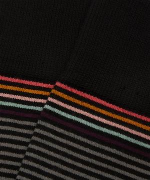 Geo Stripe Socks