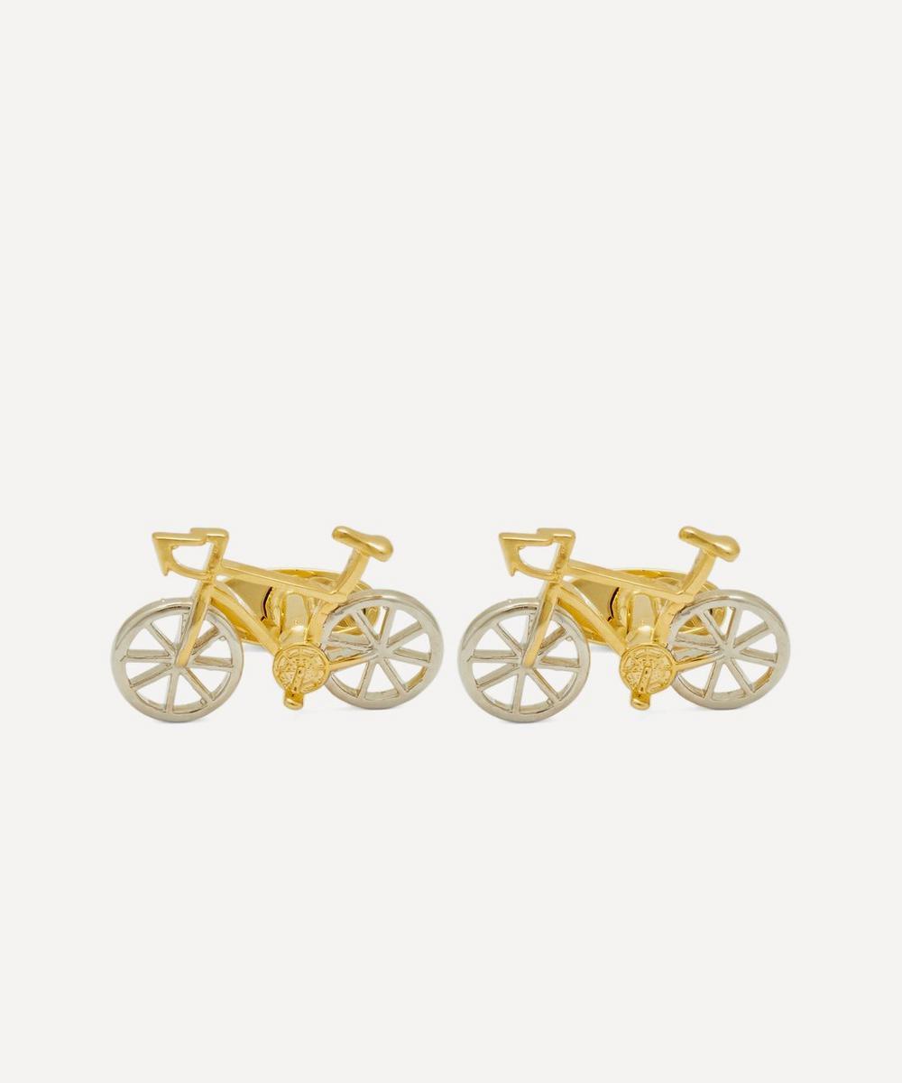 Racing Bicycle Cufflinks