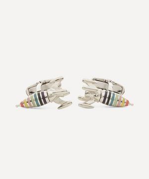 Artist Stripe Rocket Cufflinks