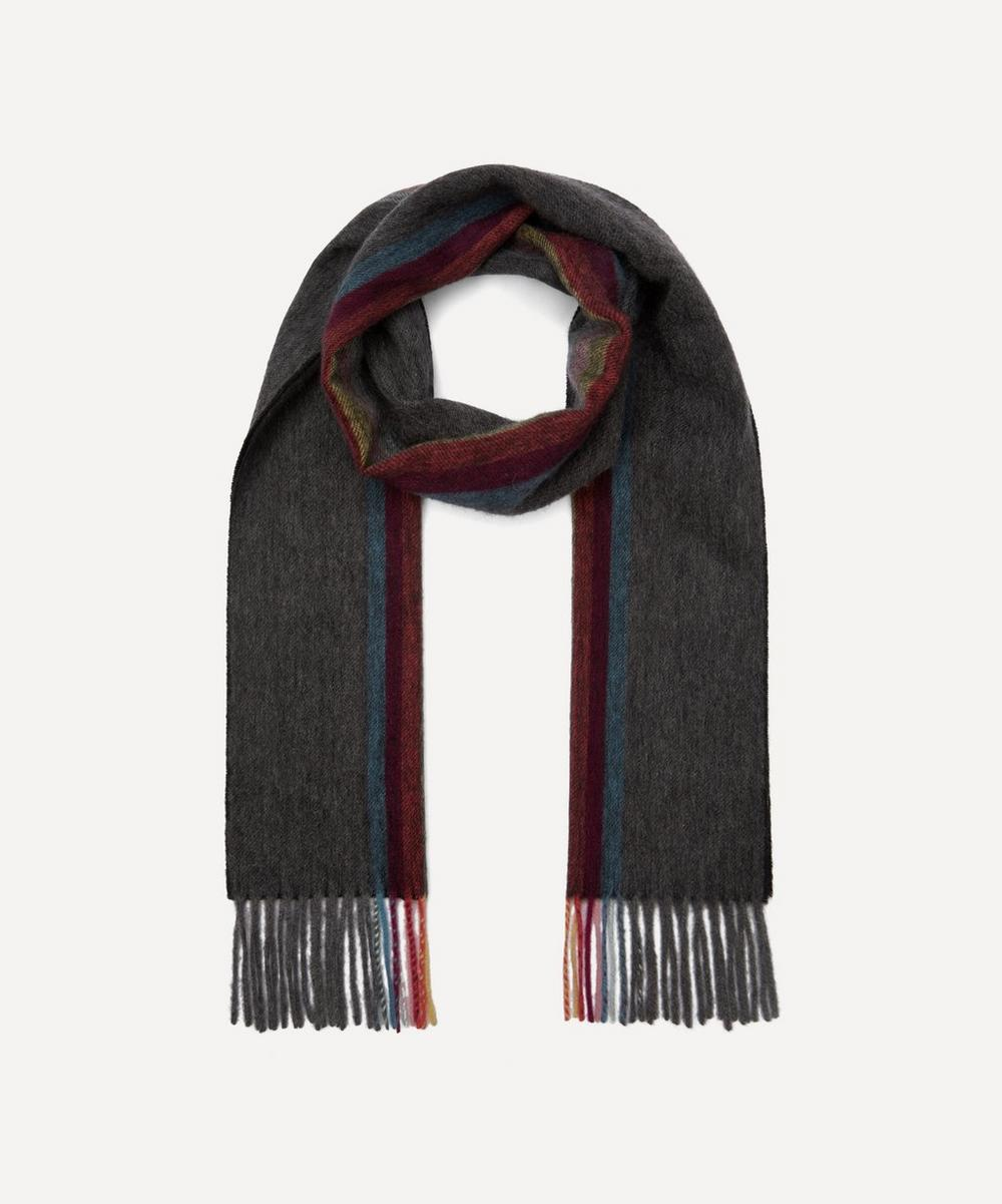 Paul Smith Accessories ARTIST STRIPE CASHMERE SCARF