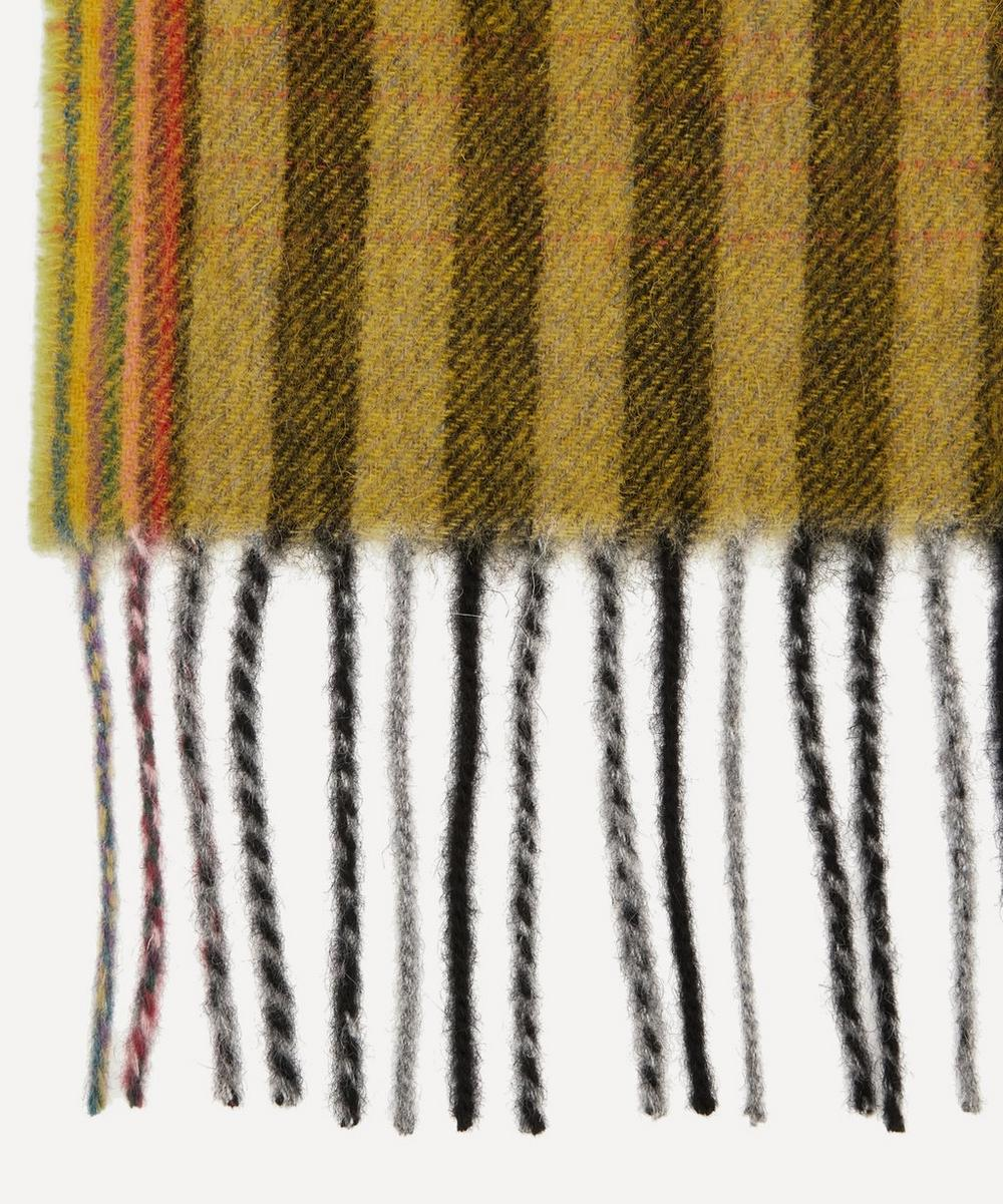 Gradient Stripe Wool and Cashmere-Blend Scarf