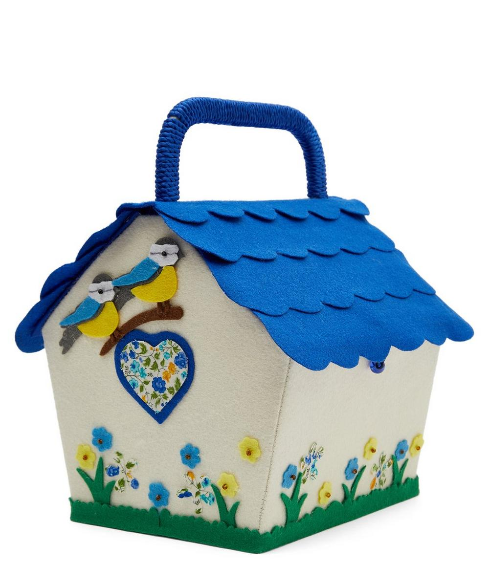 Birdhouse Sewing Box