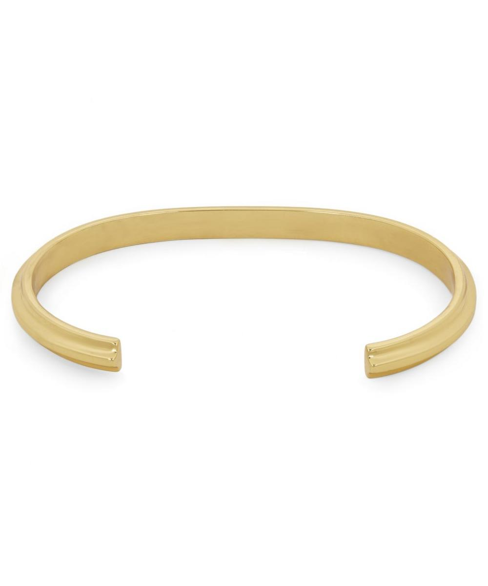 Gold Vermeil T-Beam Bracelet