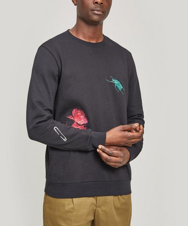 Embroidered Patch Sweater