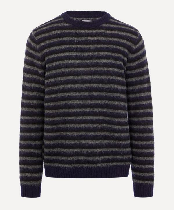 Sigfred Brushed Stripe Knit