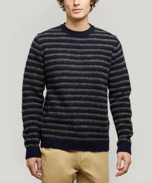 Sigfred Brushed Stripe Knit