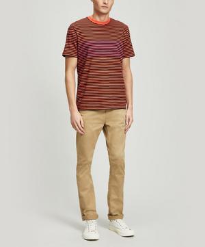 Striped Short-Sleeve T-Shirt
