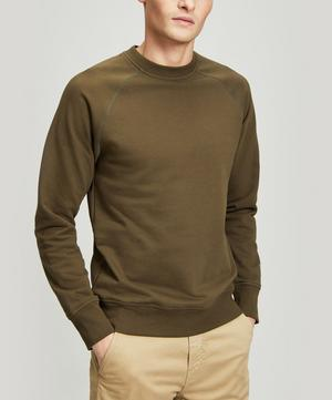 Raglan Sleeve Cotton Sweater