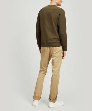 Raglan Sleeve Cotton Sweater
