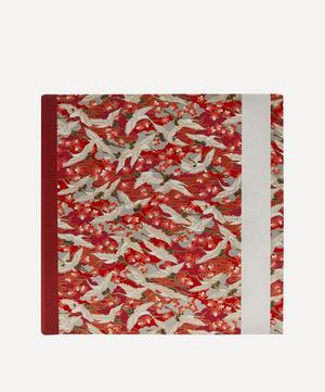 Large Red Blossom Cranes Square Album
