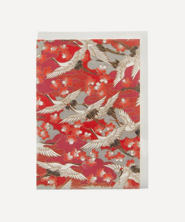 Esmie - Red Blossom Greeting Card