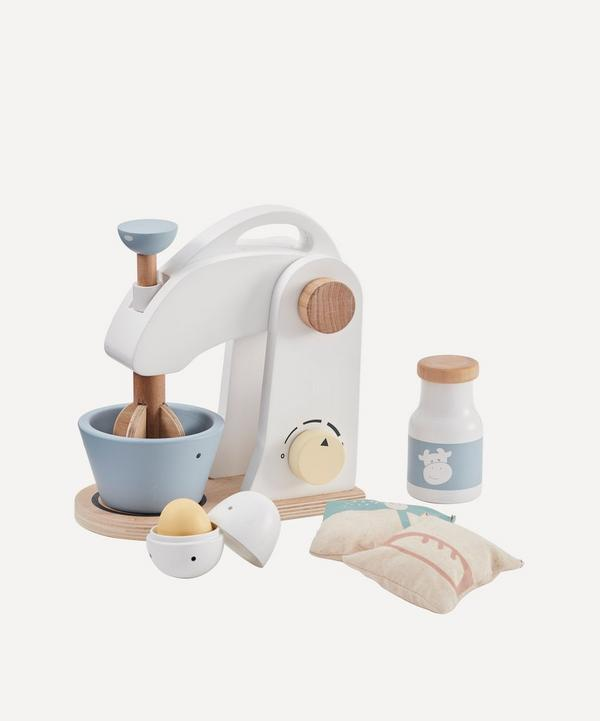 Wooden Mixer Set