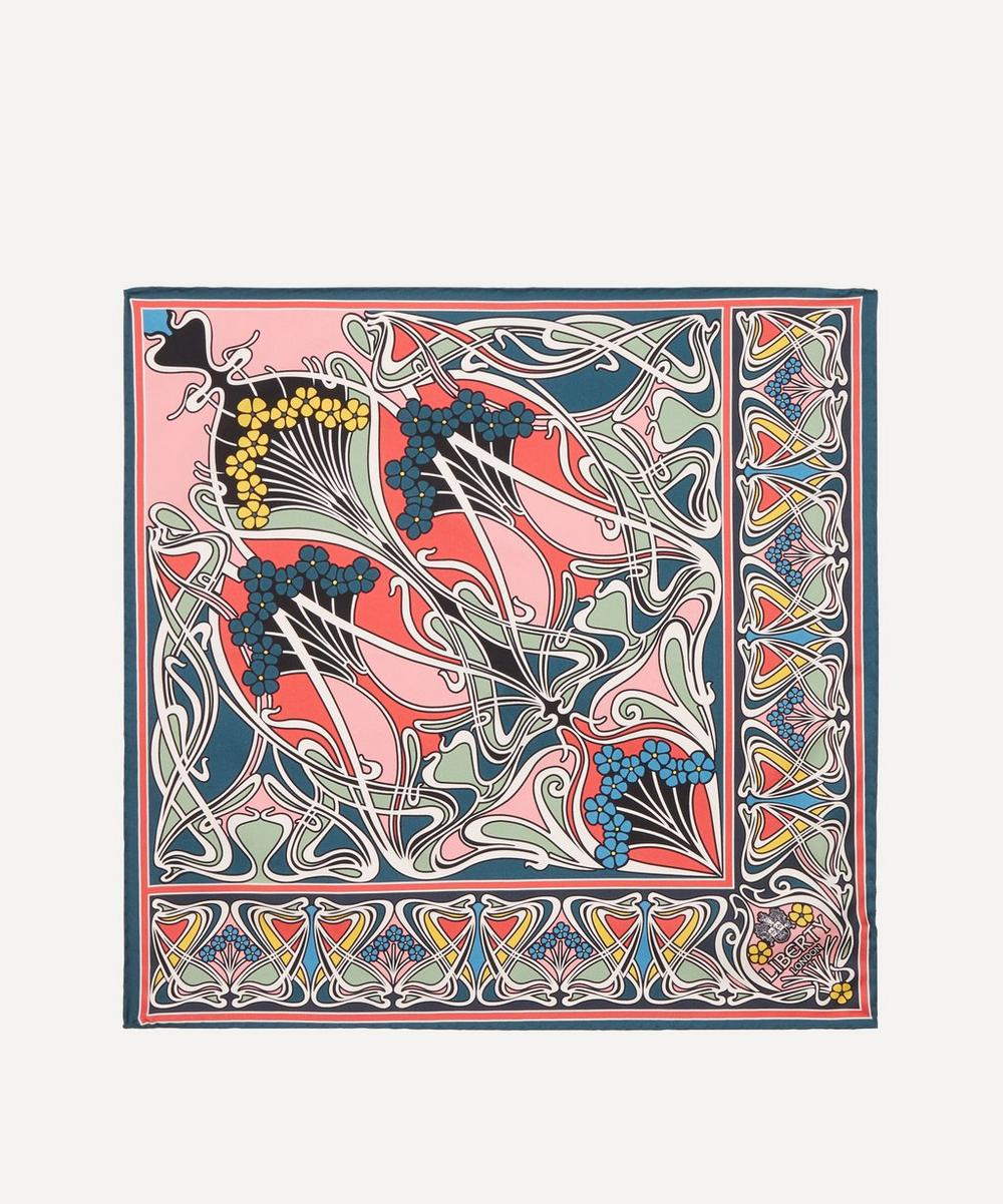 Liberty - Ianthe 45 x 45cm Silk Twill Scarf