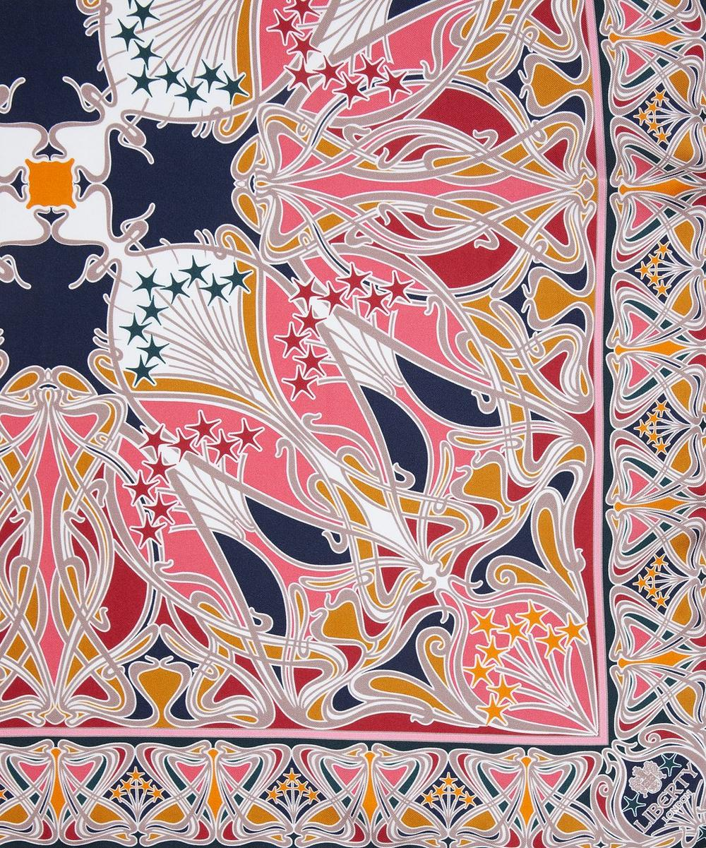 Ianthe Star 70 x 70cm Silk Twill Scarf