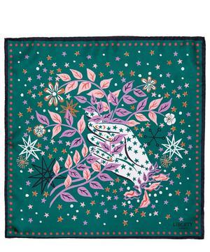 Ianthe Valentine 45 x 45cm Silk Twill Scarf