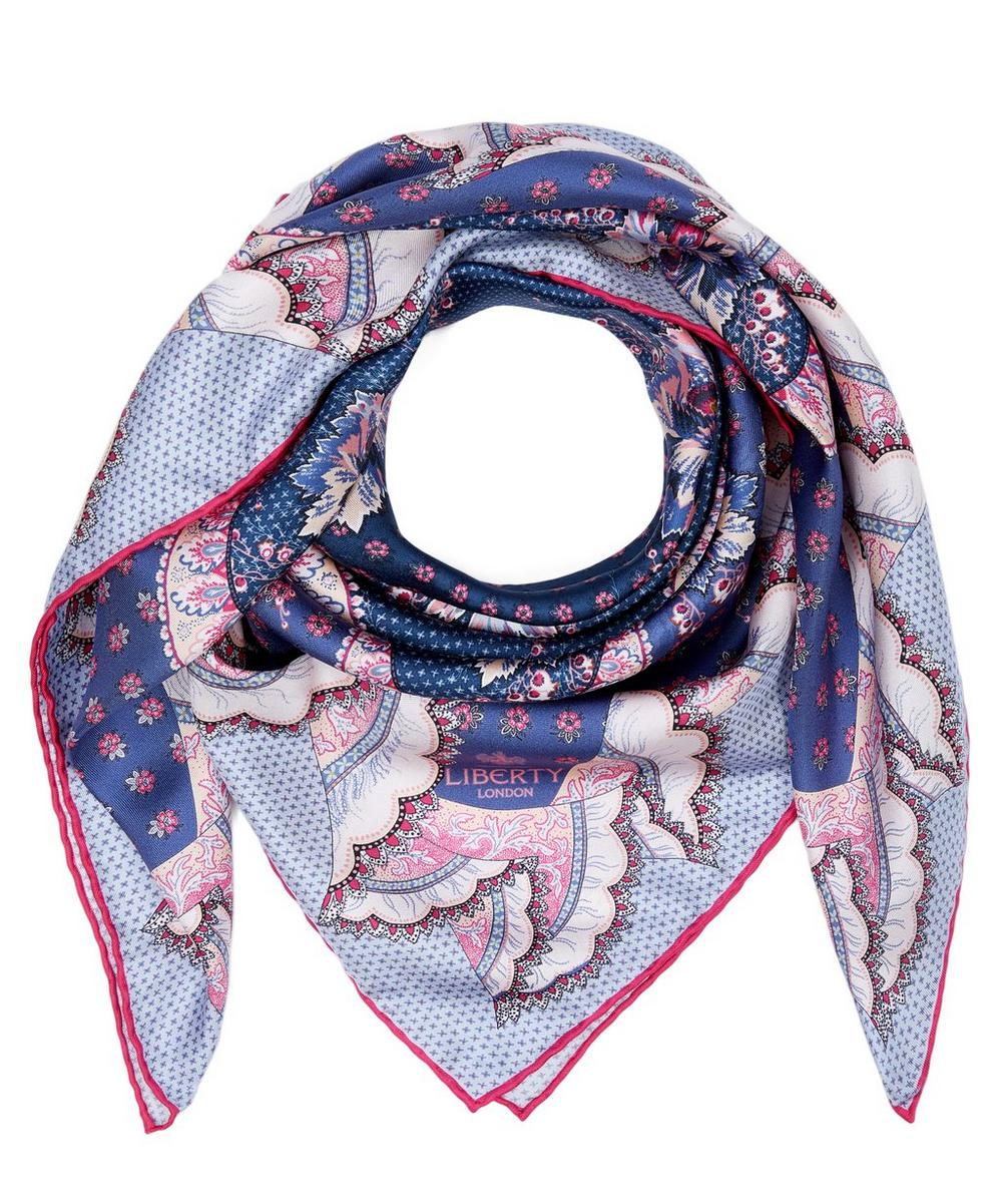 Rita and Cecil 90 x 90cm Silk Twill Scarf