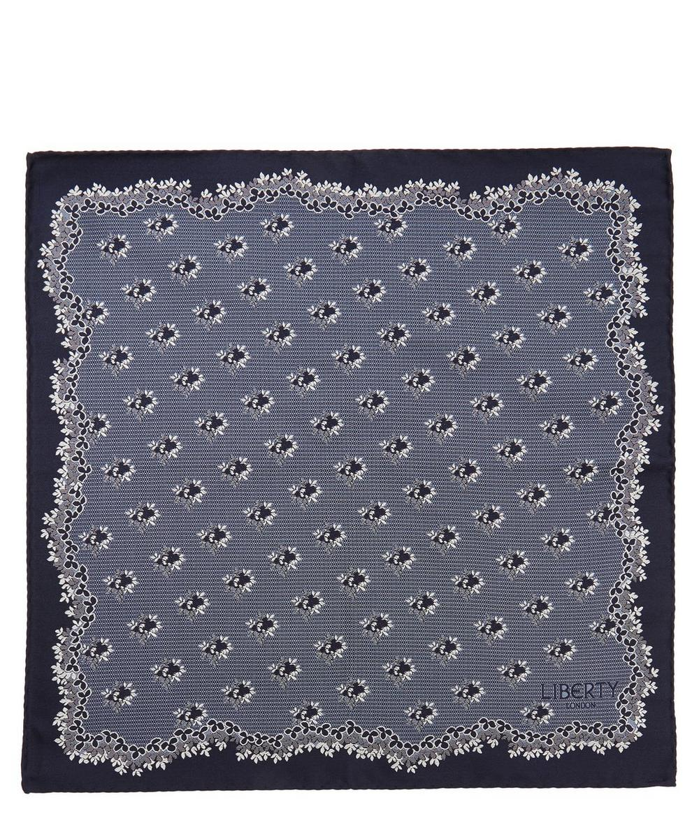 Baillie Woven Silk Pocket Square